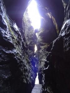 Pokljuška Luknja, Cave